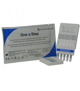 5 narkotinių medžiagų testas One Step N1