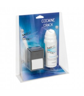 NarcoSpray ® - narkotinių medžiagų aplinkoje aptikimui, 150 testų
