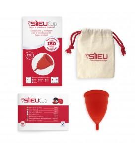 """Daugkartinio naudojimo menstruacinė taurelė """"SILEU Soft"""" (dydis - L)"""