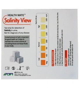 """""""Health Mate Salinity View"""" testas šlapimo druskingumo diagnostikai (1 testas)"""