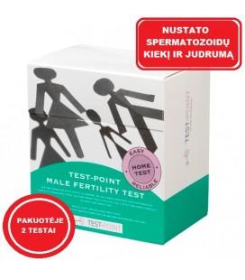 (Pakuotėje - 2vnt.) Vyrų vaisingumo testas Test Point