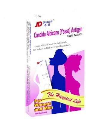 """Testas """"Candida"""" pienligės (makšties kandidozės) diagnostikai šlapime (moterims ir vyrams)"""
