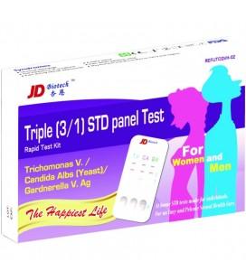 """Multitestas """"Trichomonas, Candida ir Gardnerella"""" diagnostikai šlapime (moterims ir vyrams), (1 testas) (JD, Taivanis)"""