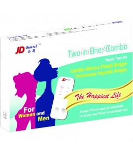 """Multitestas """"Trichomonas ir Candida"""" diagnostikai šlapime (moterims ir vyrams), (1 testas) (JD, Taivanis)"""