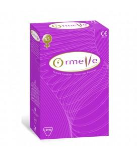 """Moteriški prezervatyvai """"ORMELLE"""", 5 vnt. (Sugant, Prancūzija)"""