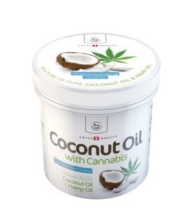Herbamedicus Coconut Oil kokosų aliejus su kanapėmis, 250ml
